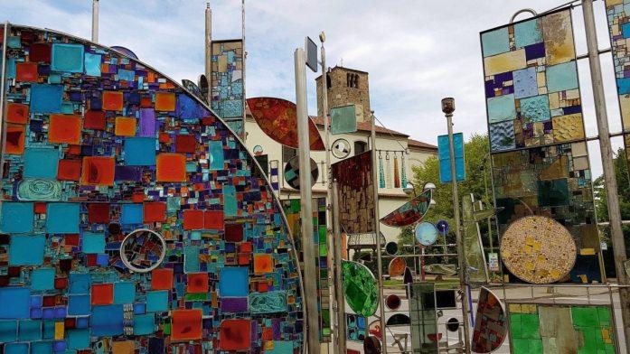 Glaskunstwerk in Montegrotto Terme