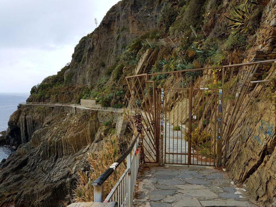 Tor zur Via dell´Amore in der Cinque Terre