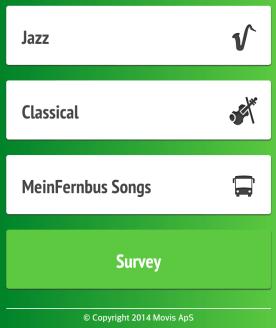 Noch mehr Musikauswahl