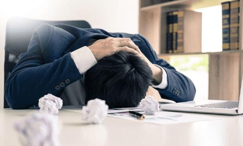 symptomen van een burnout
