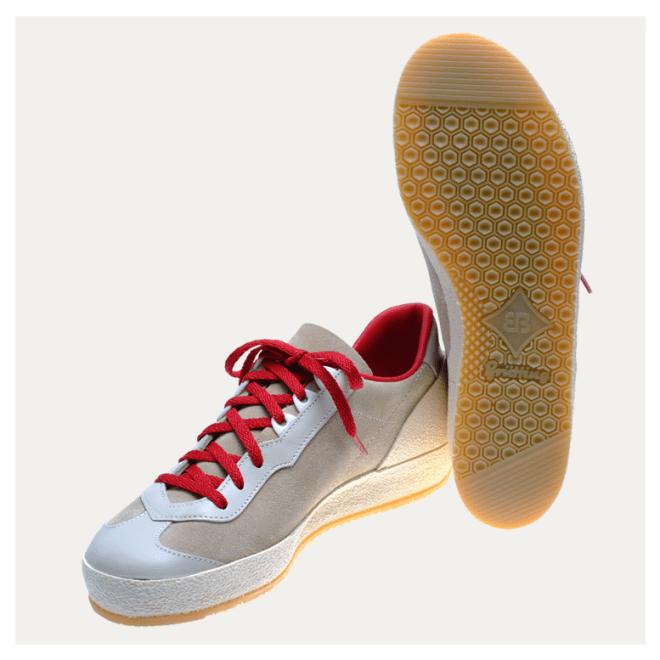 Roadrunner Brütting Beige Rot Schuhe