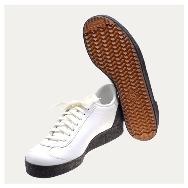 Astroturfer Brütting weiß Rindsleder klassische Schuhe