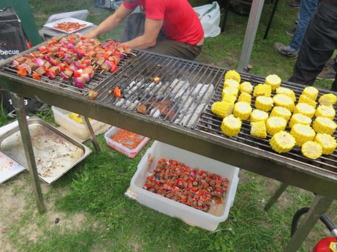 vegan BBQ at Fair festival