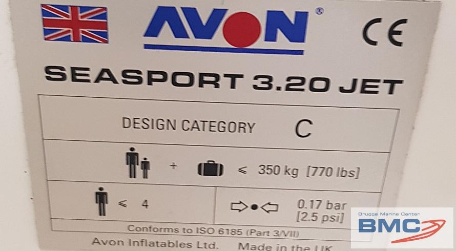 AVON SEASPORT 320 JET – YAMAHA JET – [2004]