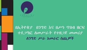 Image Sector Engagement Toolkit for the Business leader in Amharic