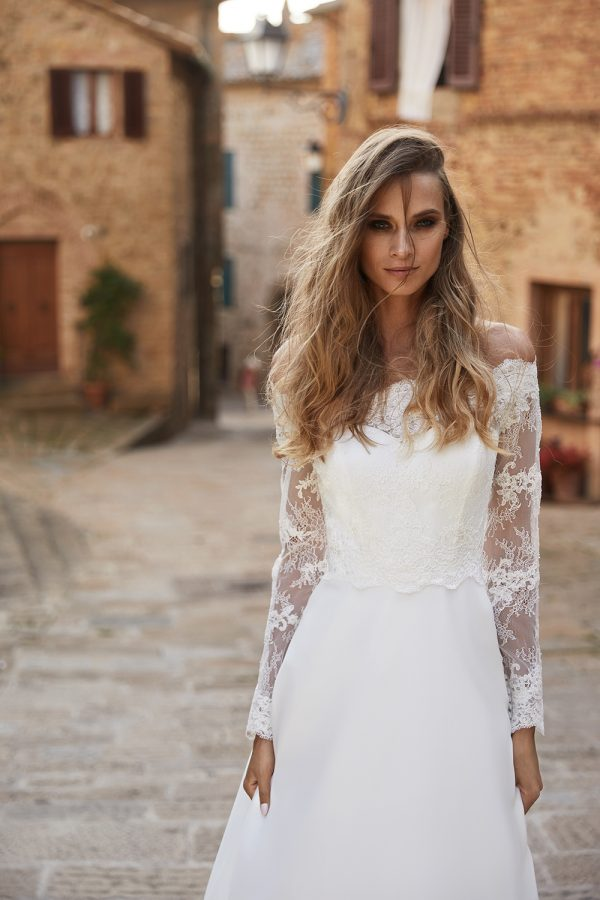 Bianco Evento_Campaign_dress HEIDI