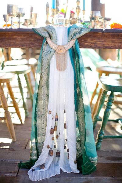 Marokkaanse bruiloft decoratie