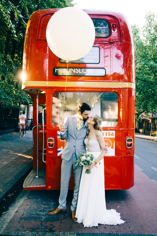 Engelse dubbeldekker bus huren
