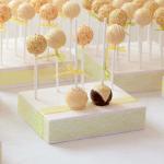 Cakepops in het geel