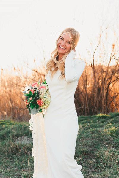 Genoeg De mooiste trouwjurken met lange mouwen | Bruiloft Inspiratie &WF97