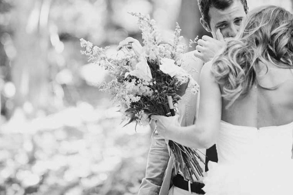 Emotionele bruidegom