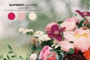 De mooiste kleurencombinaties voor bruiloften