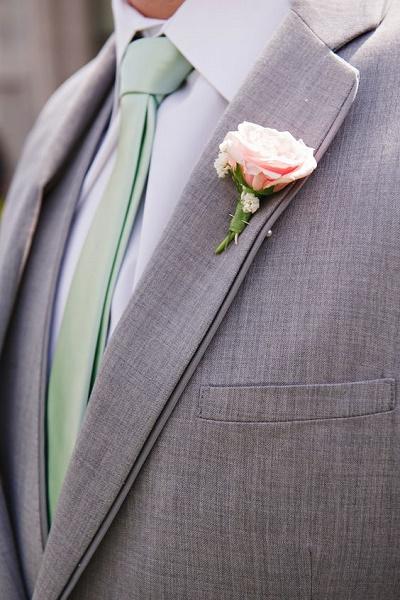Bruiloft in de themakleur mint  Bruiloft Inspiratie