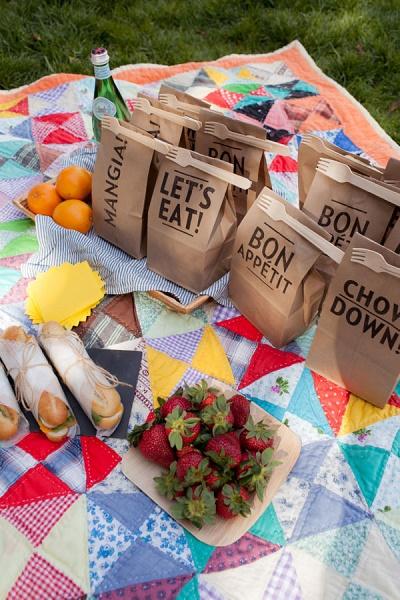 Picknick lunchzakje