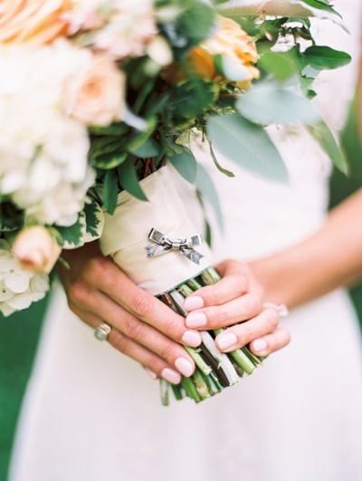 Pastel bruidsnagels