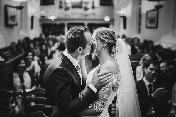 Bruiloft kerkje Sandfirden