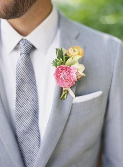 Corsage bruidegom