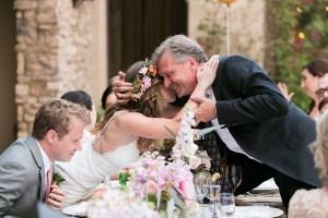 Bruiloft met gescheiden ouders
