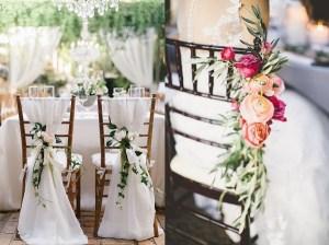 Bruiloft stoelen