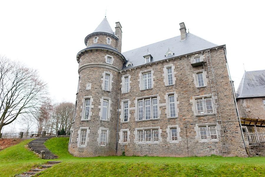 Trouwen in kasteel de Blier in België