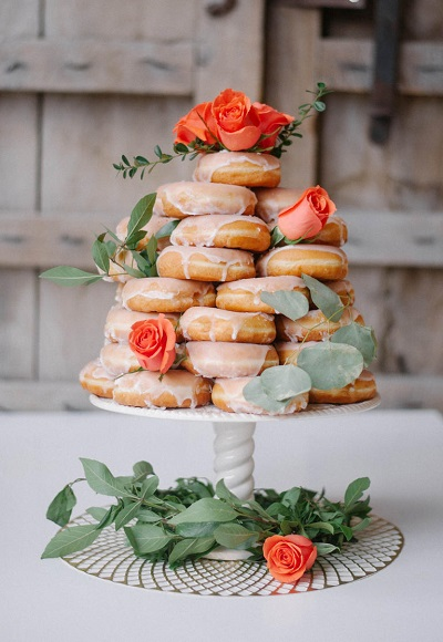 Donuts bruidstaart