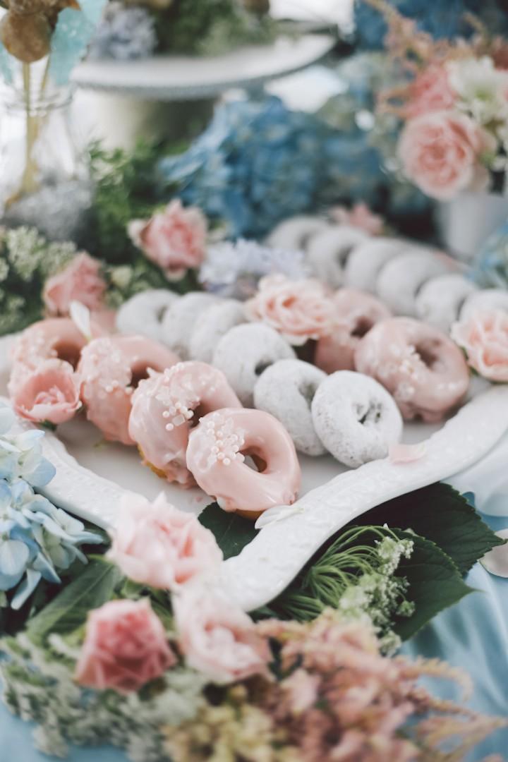 Dessert buffet bruiloft
