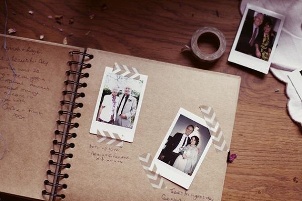 Uitgelezene Gastenboek met foto´s | Bruiloft Inspiratie UV-44