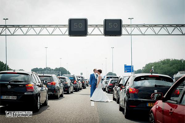 File kan trouwdag niet verpesten