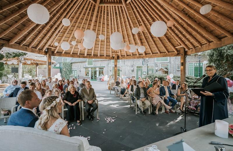 Bruiloft op de boerderij het Wapen van Zoetermeer