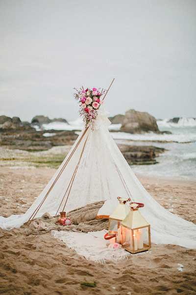 Tipitent bruiloft