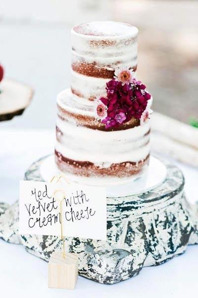 Bruiloft plannen bruidstaart