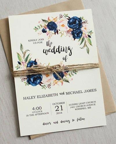 Bruiloft plannen uitnodigingen