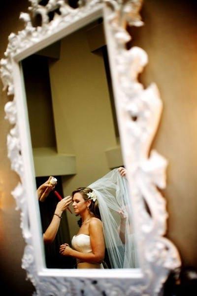 Bruid in de spiegel