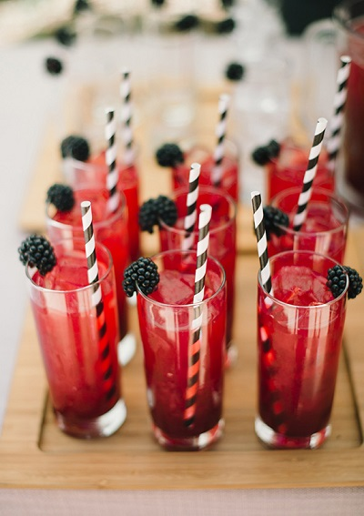 Bruiloft drankjes om te toosten