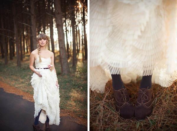 Vintage trouwjurk