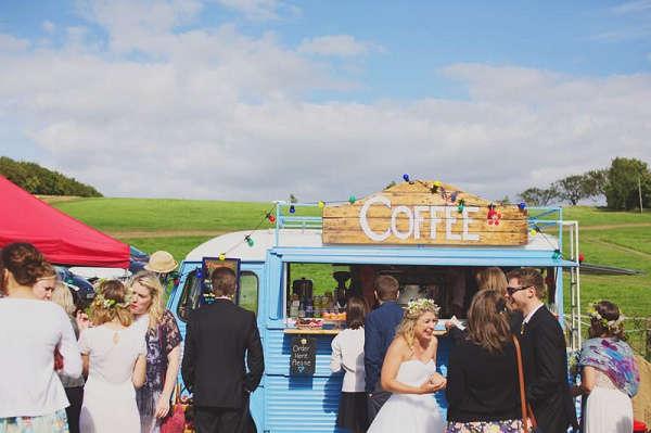 Festival bruiloft foodtruck