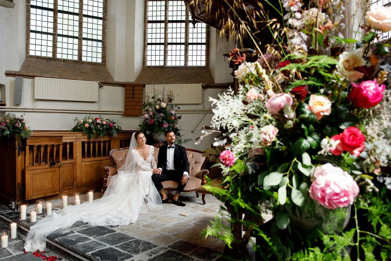 Twee fotografen op de bruiloft