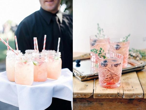 Bruiloft cocktails
