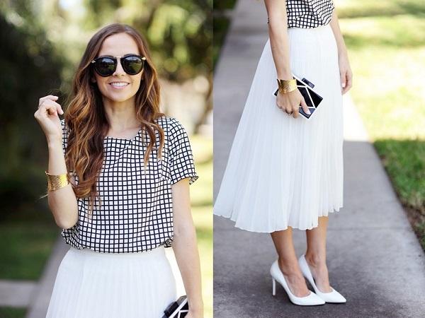 Lange rok als bruiloft outfit