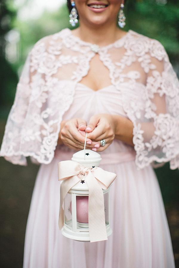 Bruid met lantaarn