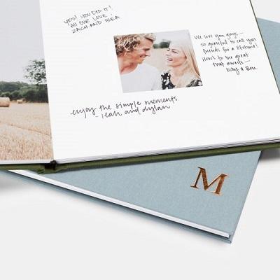 Fotoboek als gastenboek