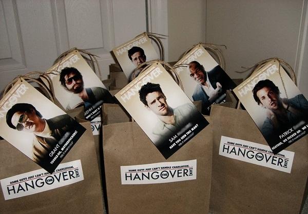 Hangover kit vrijgezellenfeest