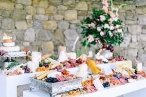 Foodbar op bruiloft