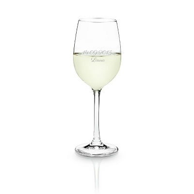 Gepersonaliseerd wijnglas