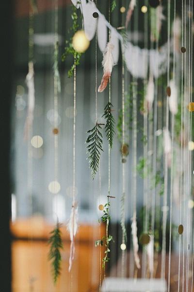Decoratie winter bruiloft