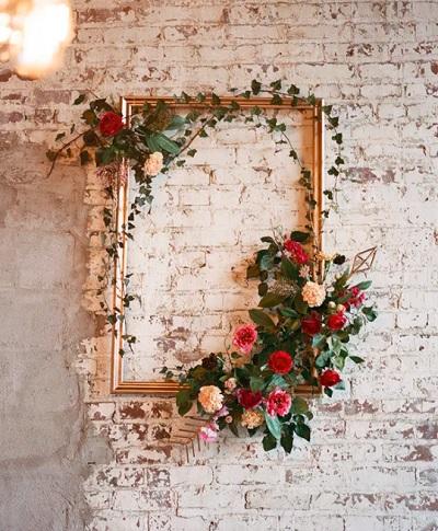 Valentijn decoratie bruiloft