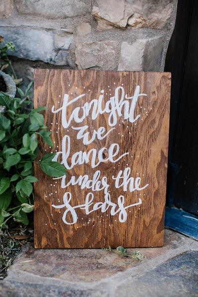 Bord tonight we dance under the stars