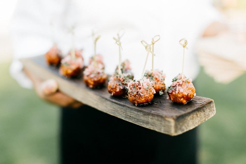 Midnight snacks na trouwfeest