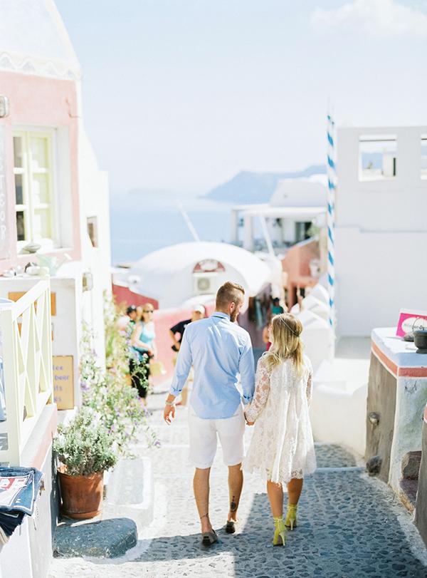 Huwelijksreis in Griekenland