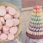 Macarons op bruiloft